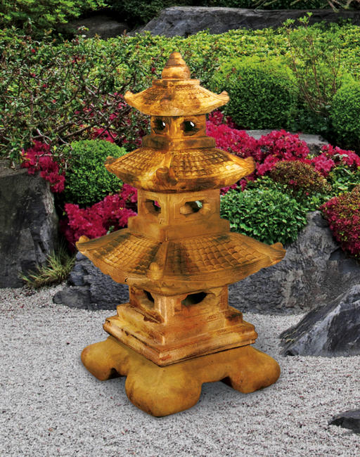 Large Tier Great Pagoda Lantern