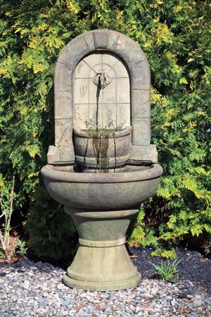 Stone Garden Spigot Fountain