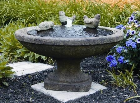 16 Singing Birds Oval Fountain White House Gardens