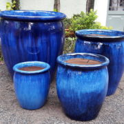 Bullet Planter BLUE