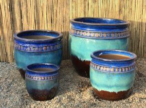 Original Glazed Pottery