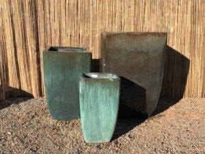 Tall Quad Planter Jade