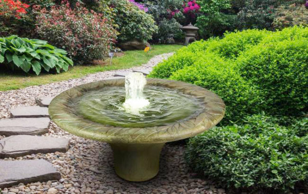 Henri Studio Leaf Motif Fountain