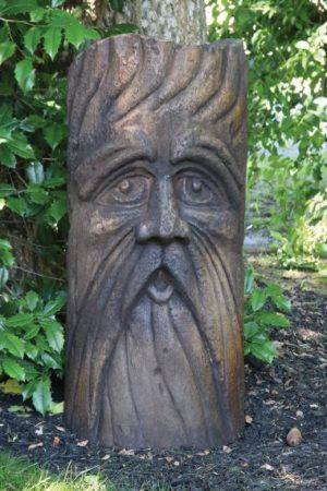 "36"" Bearded Barley Face"