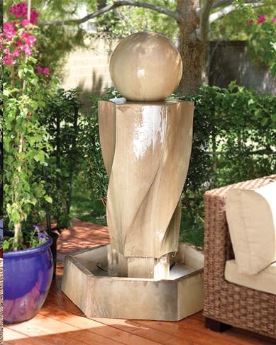 Vortex Fountain With Ball
