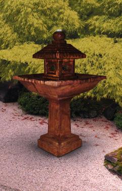 Pagoda fountain by Henri Studio (manuf. photo)