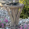 Two Tier Meadows Glow fountain by Massarelli