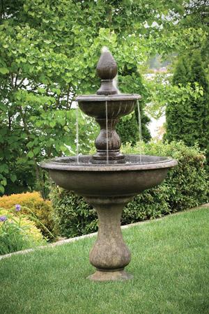 "67"" Vicenza fountain by Massarelli (manuf. photo)"