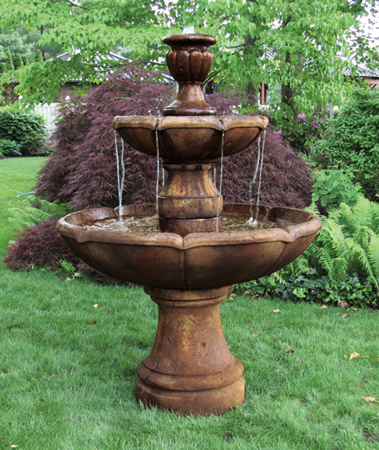 Two-tier Charlotte fountain - manufacturer image