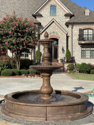 Hampton fountain by Massarelli