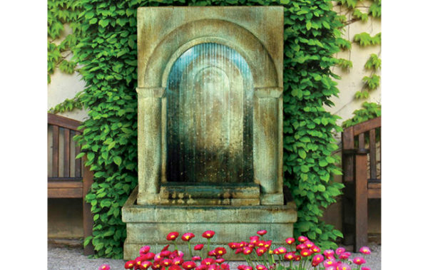 Henri Studio Falling Diamonds Grotto Fountain
