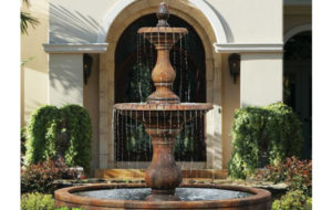 Hampton Fountain by Massarelli