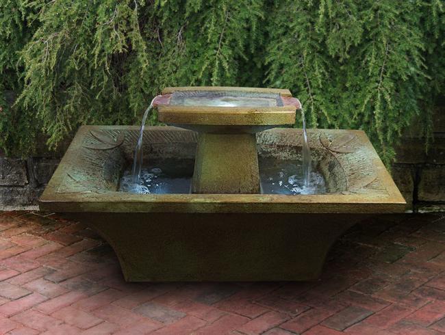Art-Deco Fountain (manuf. photo)