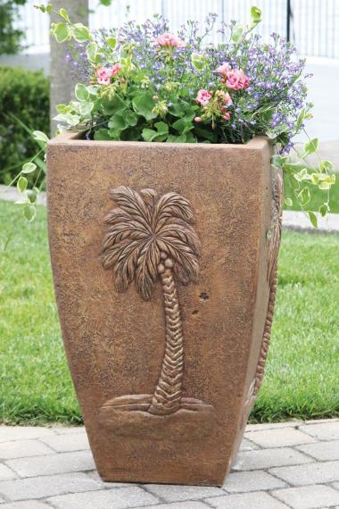 "32"" Palm Tree Planter"