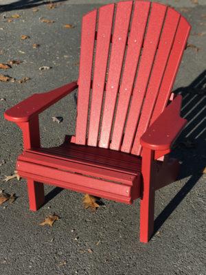 Adirondack Chair Red