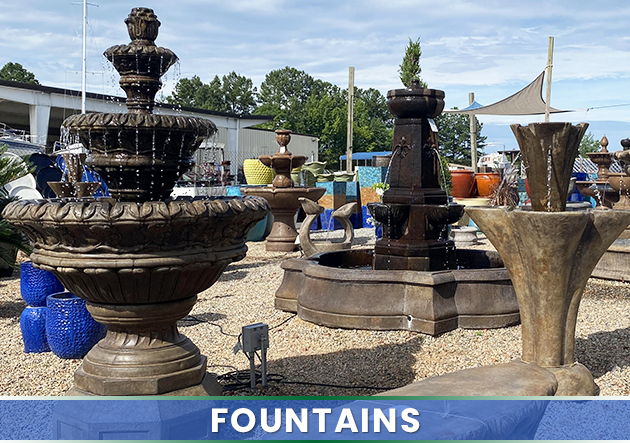 White House Gardens Cornelius Nc Fountains Full Garden Center