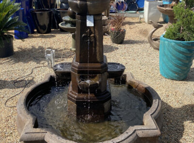Fleur De Lis fountain by Massarelli (shown at White House Gardens)