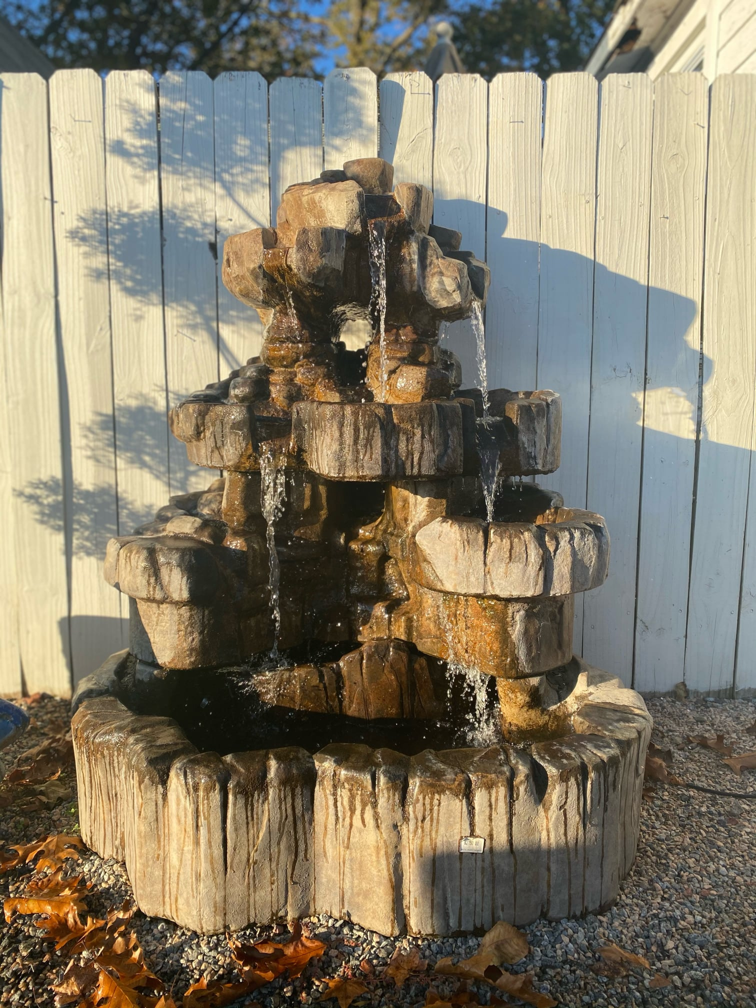 Large Rock Fountain, Original: $2750, SALE: $1950.