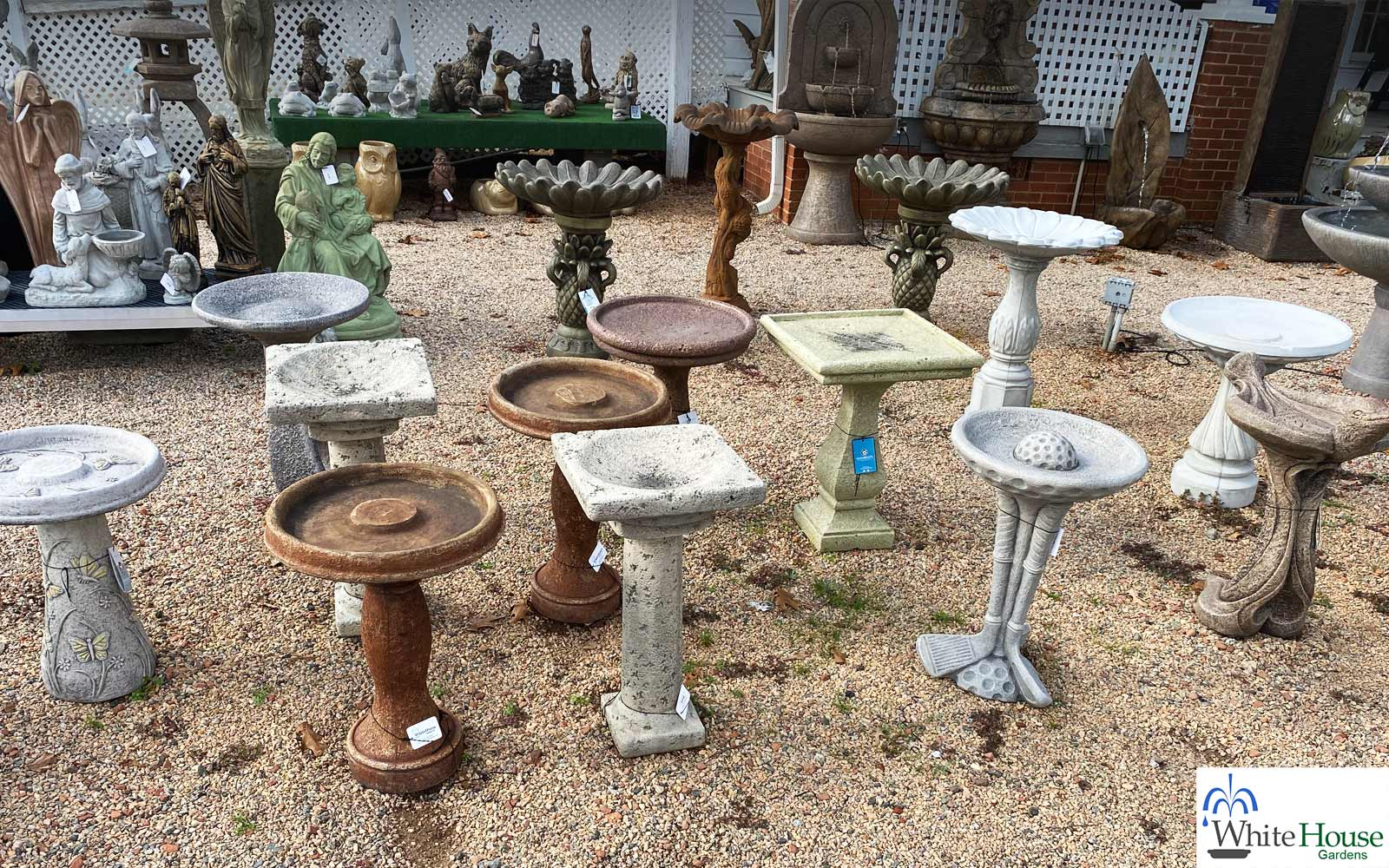 birdbath sales lake norman