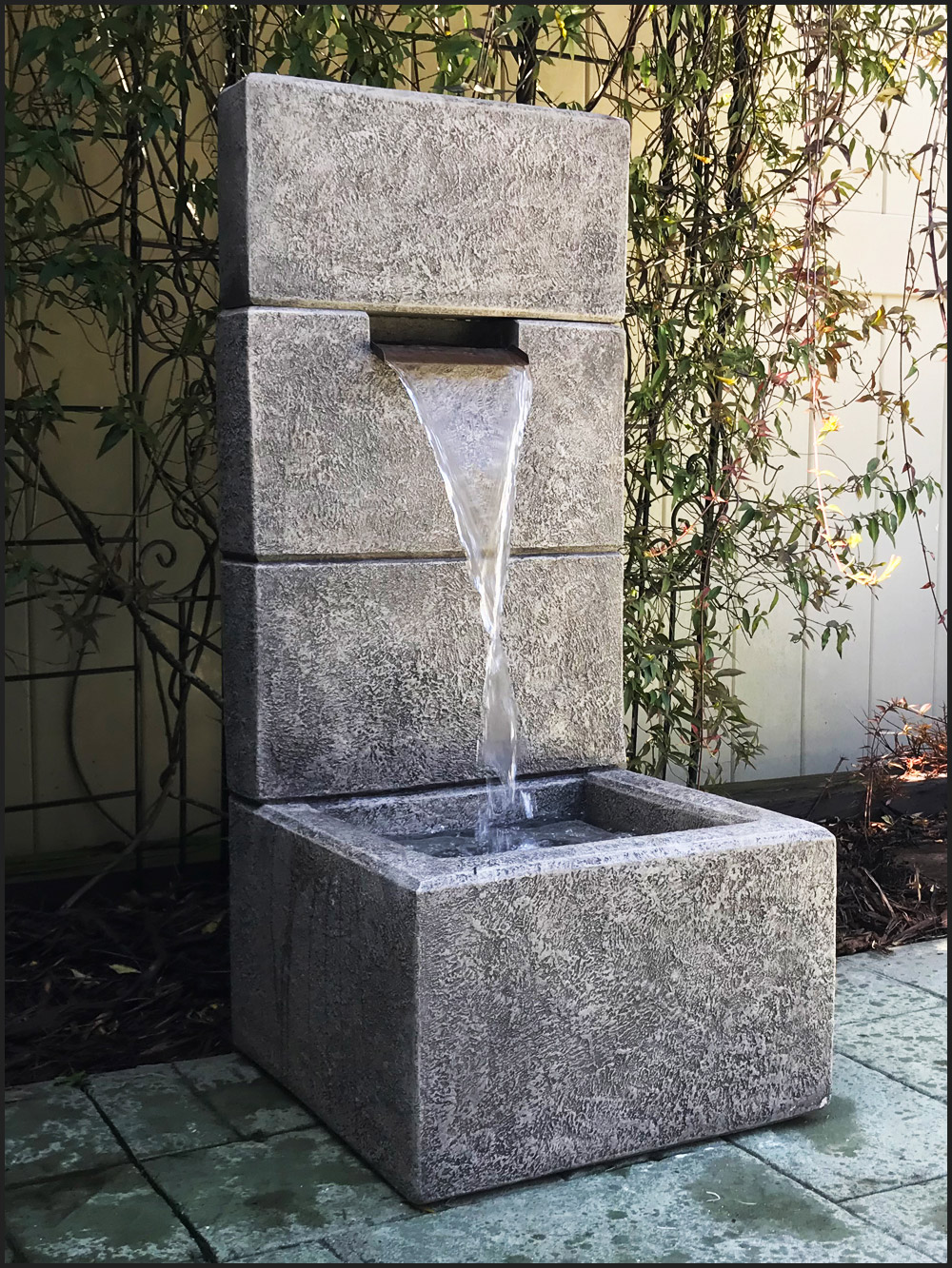Outdoor Water Fountains Charlotte