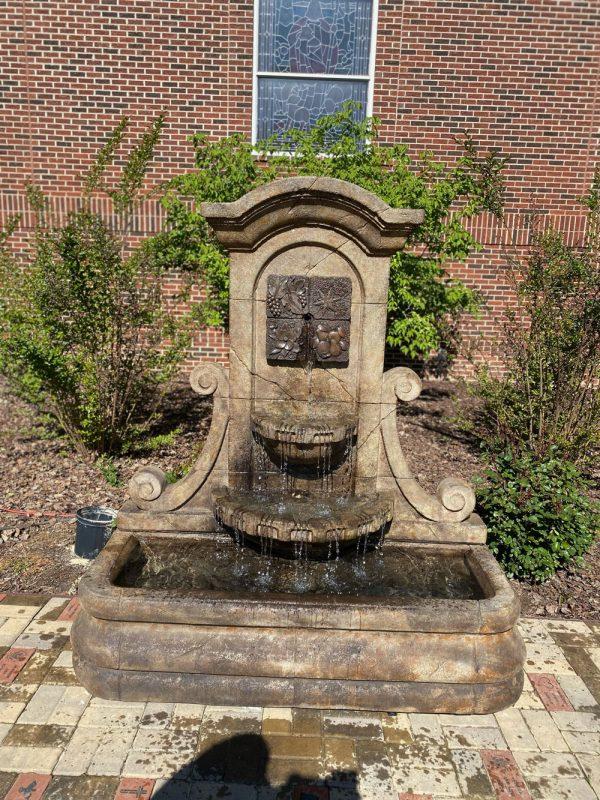 La Mura Four Seasons Wall Fountain - 2021 WHG Installation